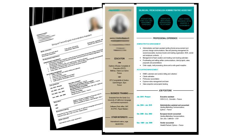 CV personnalisé