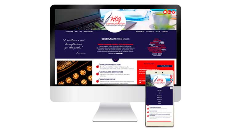 Site web HCG communication