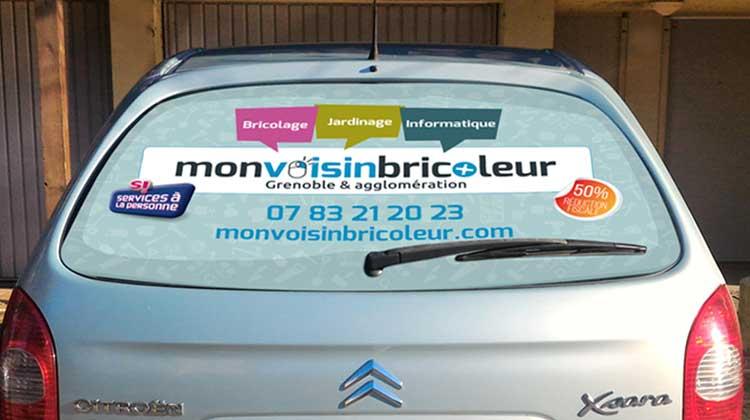 Habillage véhicule MonVoisinBricoleur
