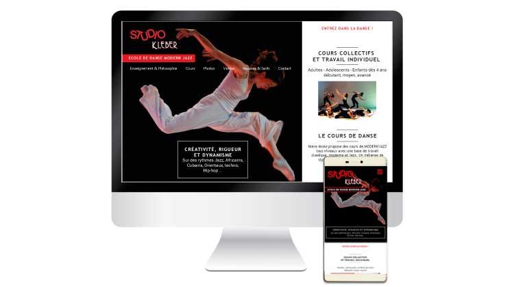 Site web Studio Kleber