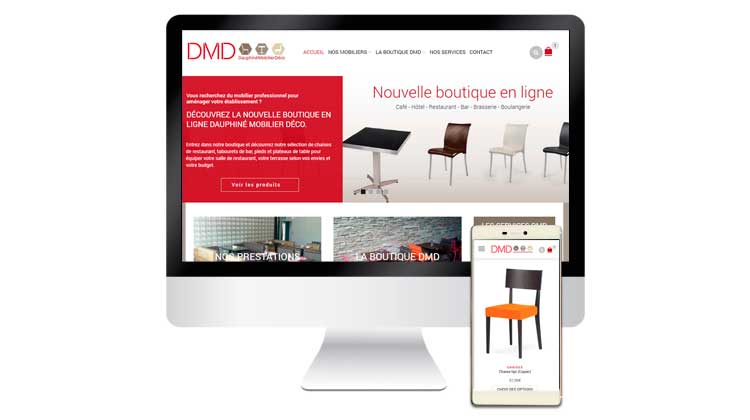 Site e-commerce DMD